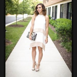 Elliatt White and pink summer dress